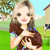 On the farm - giochi belli per ragazze da vestire alla moda